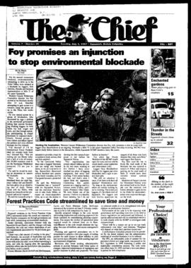 Squamish Chief: Tuesday, July 1, 1997