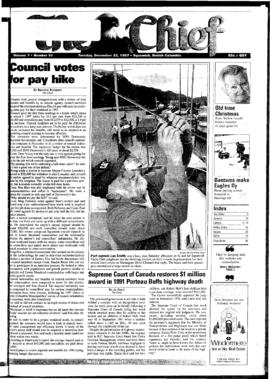 Squamish Chief: Tuesday, December 23, 1997