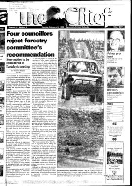 Squamish Chief: Tuesday, February 3, 1998