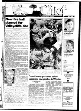 Squamish Chief: Tuesday, February 24, 1998