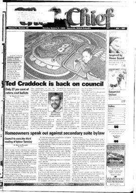 Squamish Chief: Tuesday, October 6, 1998