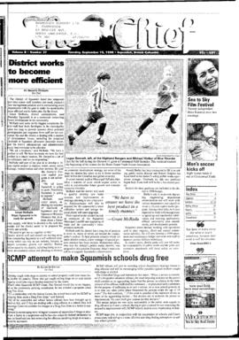 Squamish Chief: Tuesday, September 15, 1998