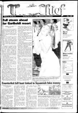 Squamish Chief: Tuesday, December 15, 1998