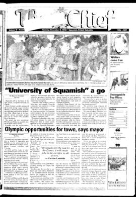 Squamish Chief: Tuesday, December 8, 1998