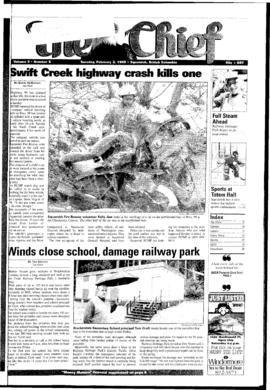 Squamish Chief: Tuesday, February 2, 1999