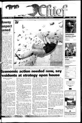 Squamish Chief: Tuesday, February 9, 1999