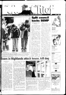 Squamish Chief: Tuesday, May 11, 1999