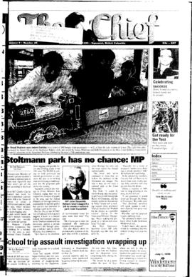 Squamish Chief: Tuesday, June 22, 1999
