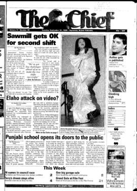 Squamish Chief: Tuesday, September 21, 1999