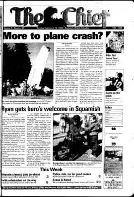 Squamish Chief: Tuesday, September 14, 1999