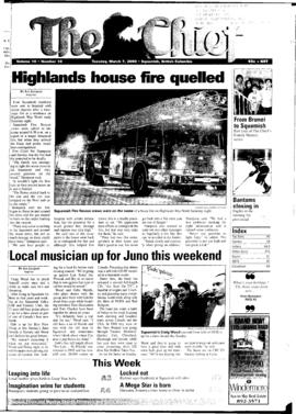 Squamish Chief: Tuesday, March 7, 2000
