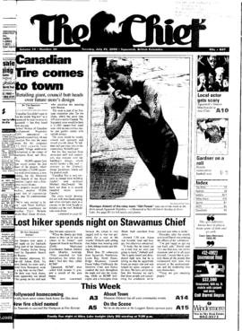 Squamish Chief: Tuesday, July 25, 2000