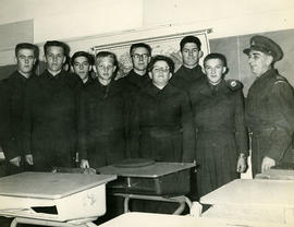 Cadets in the classroom