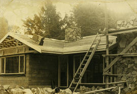 Building under construction, Squamish