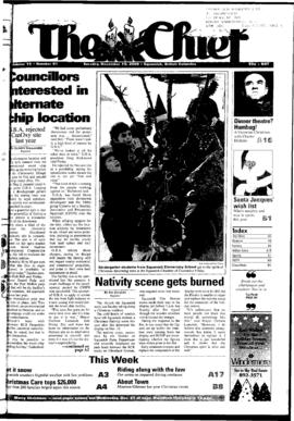Squamish Chief: Tuesday, December 19, 2000
