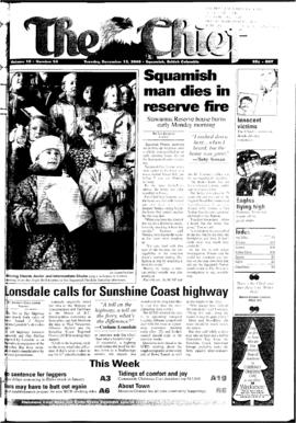 Squamish Chief: Tuesday, December 12, 2000