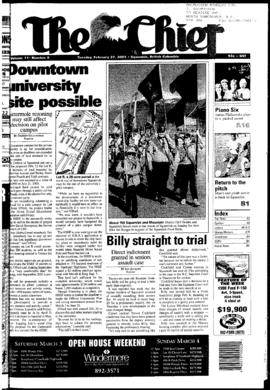 Squamish Chief: Tuesday, February 27, 2001