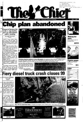Squamish Chief: Tuesday, February 13, 2001