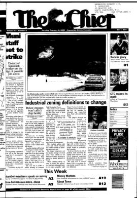 Squamish Chief: Tuesday, February 6, 2001