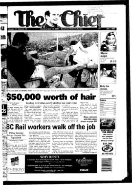 Squamish Chief: Tuesday, April 10, 2001
