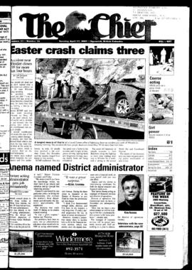 Squamish Chief: Tuesday, April 17, 2001
