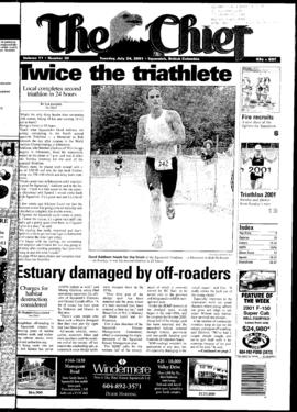 Squamish Chief: Tuesday, July 24, 2001