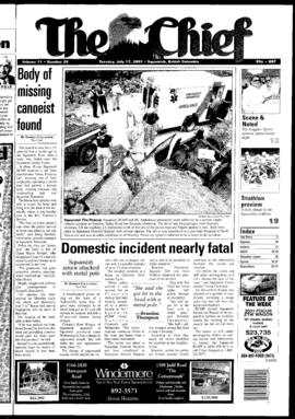 Squamish Chief: Tuesday, July 17, 2001