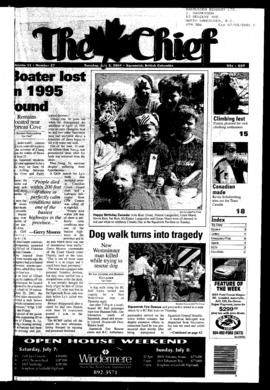 Squamish Chief: Tuesday, July 3, 2001