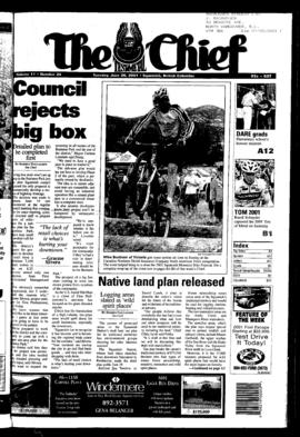 Squamish Chief: Tuesday, June 26, 2001
