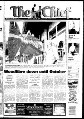 Squamish Chief: Tuesday, July 31, 2001