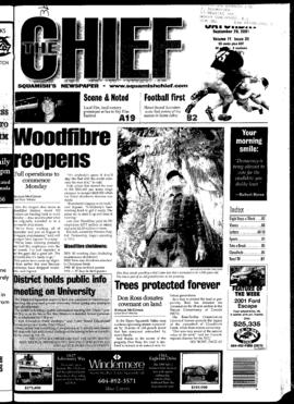 Squamish Chief: Saturday, September 29, 2001