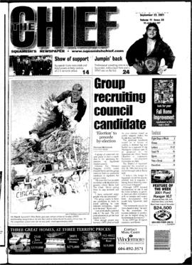 Squamish Chief: Saturday, September 22, 2001