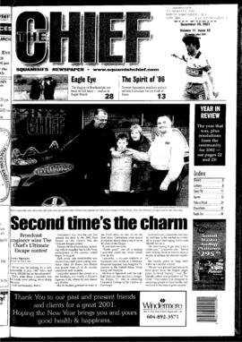 Squamish Chief: Saturday, December 29, 2001