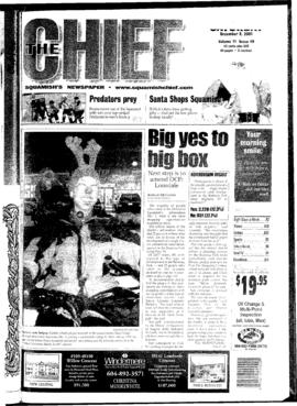 Squamish Chief: Saturday, December 8, 2001