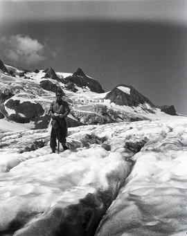 Ted on icefield