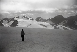 Travers on glacier, Black Tusk