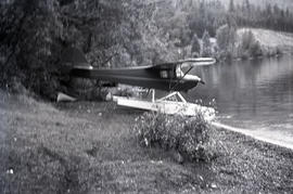 Plane at Anderson Lake / D'Arcy