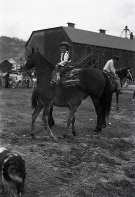 Kids and horses - May 24 (Victoria Day)
