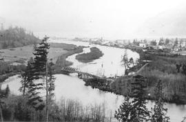 View of Squamish around 1901 - 1905