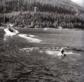 Swimming in Alta Lake