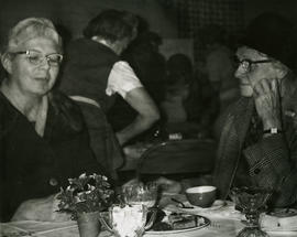 Women at table
