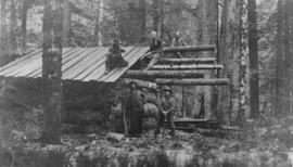 Trapping shelter at Elaho