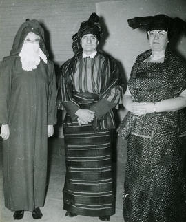 Three people in costumes #2