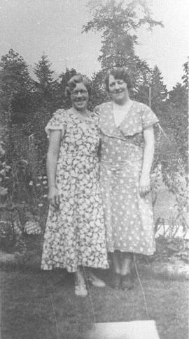 Mildred MacDonald and Mary Wright