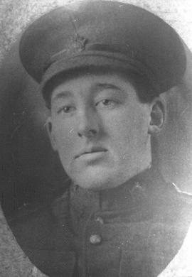 Portrait of Scott MacDonald during first World War