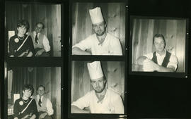 Contact sheet with chef etc