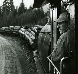 Train and logs