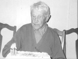 Walter Green on 99th birthday