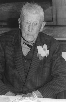 Walter Green on 100th birthday