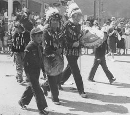 Indians in parade, 1959